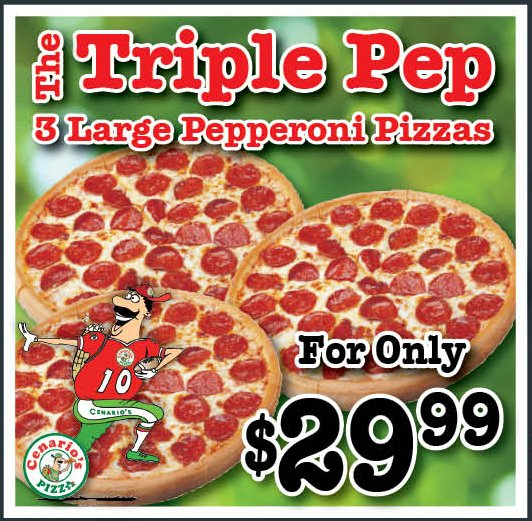 Triple Pep Special